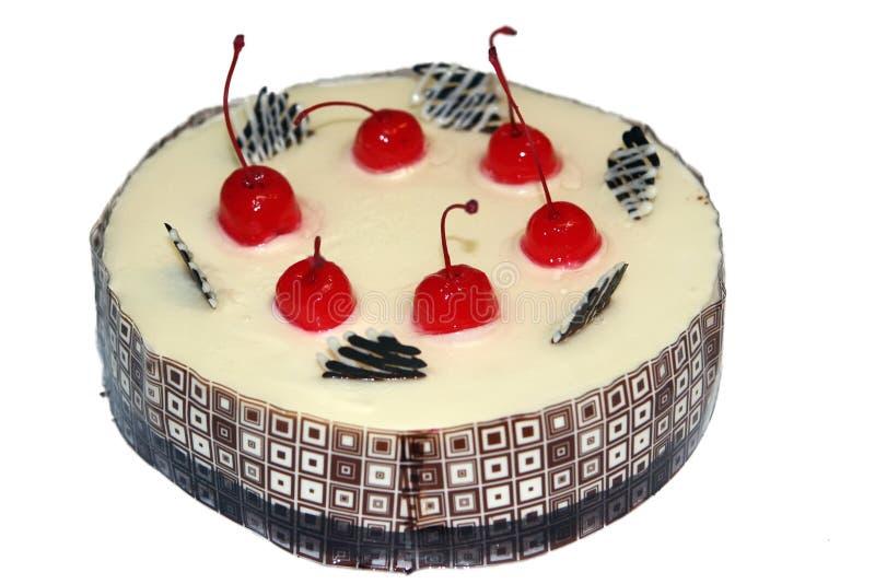 Kräm- cake royaltyfria bilder