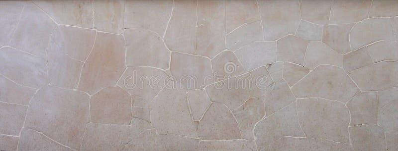 Kräm- Java Random Stone royaltyfria bilder