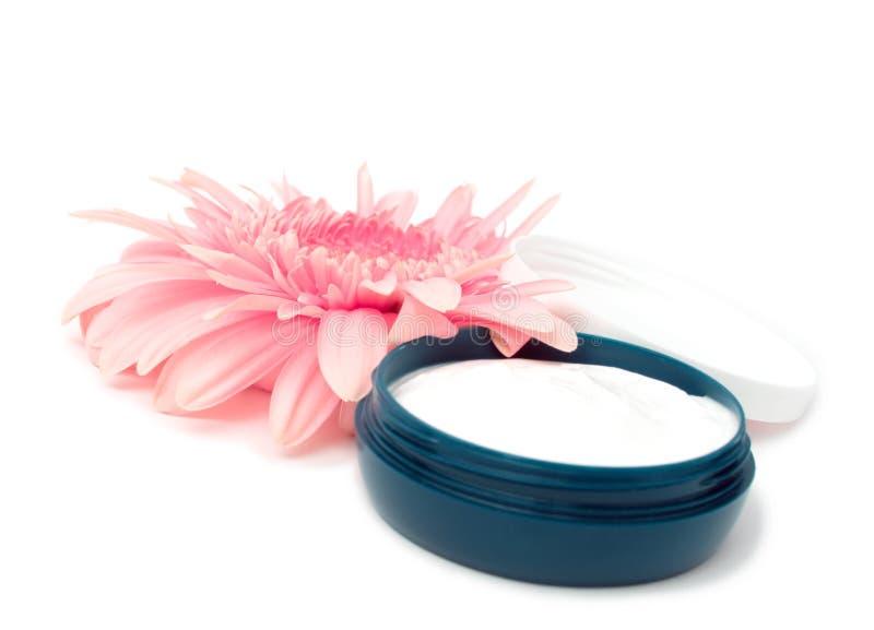kräm- moisturizing royaltyfri bild