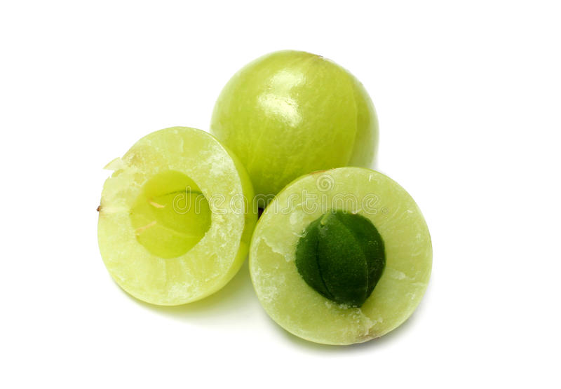 Kräuter-Amla-Früchte lizenzfreie stockfotos