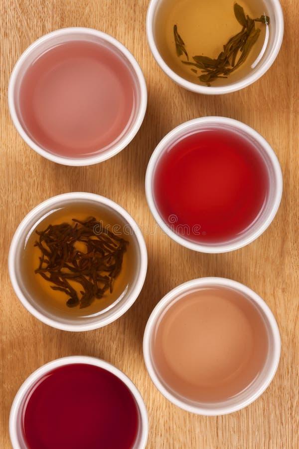 Kräuter- und Frucht-Tee stockfotos