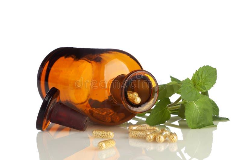 Kräutermedizin lizenzfreies stockfoto