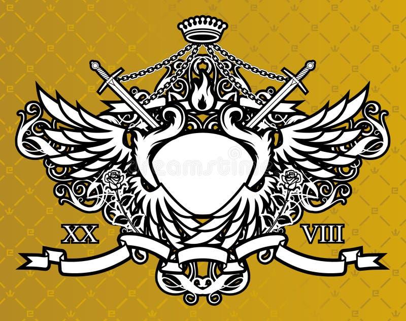 król świata royalty ilustracja