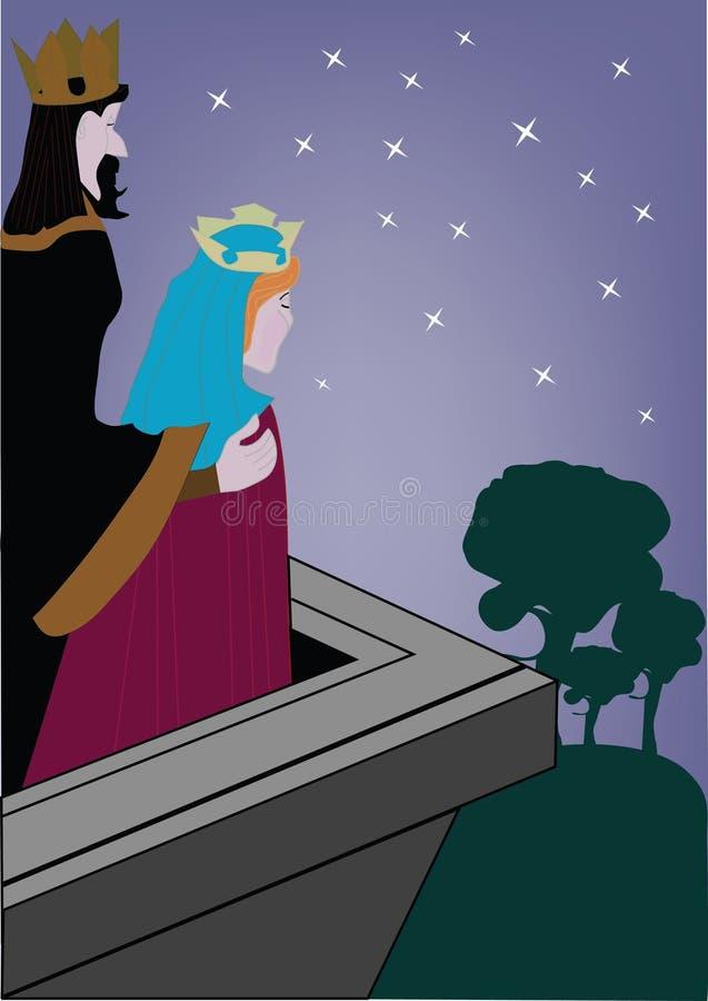 król ilustracji