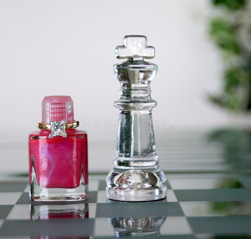król królowej szachowy oferty fotografia stock