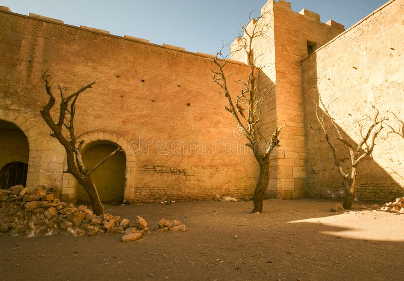 Królestwo Maroko lokalizuje w afryce pólnocnej Maroko — kraj kuszenie, obrazy stock