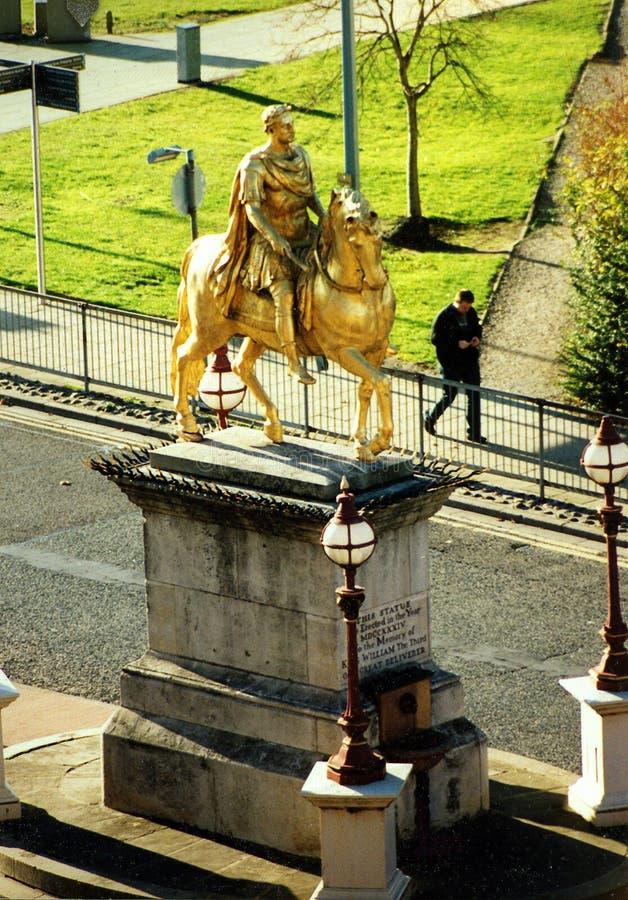 Królewiątka Billy statua, rynek, Kingston Na łuskę fotografia royalty free