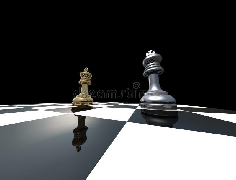 królewiątka dwa obrazy royalty free