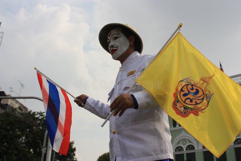 królewiątka urodzinowy rocznicowy Tajlandia zdjęcie royalty free