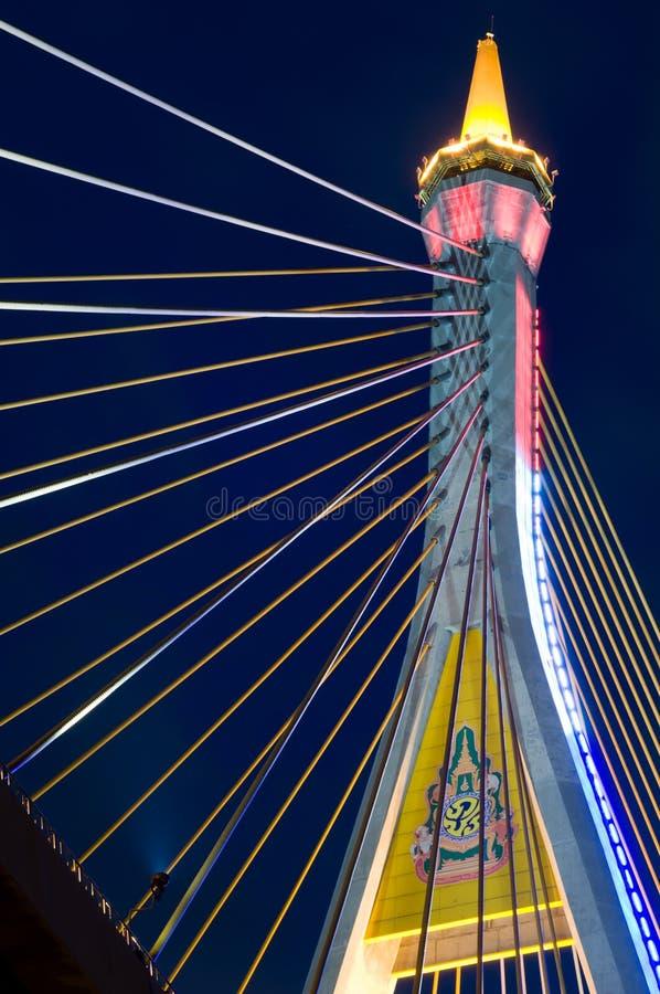 królewiątko bridżowy symbol rama9 obrazy royalty free