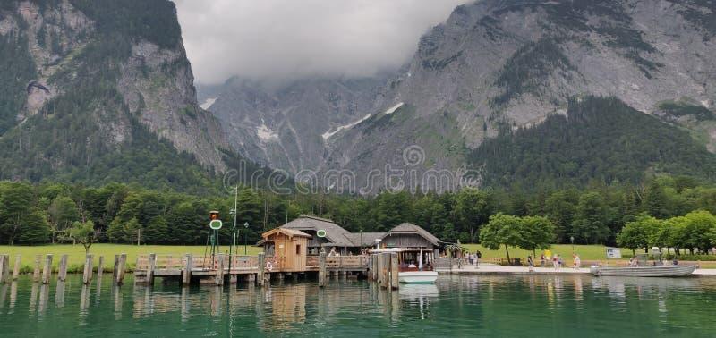 Królewiątko jezioro zdjęcie stock