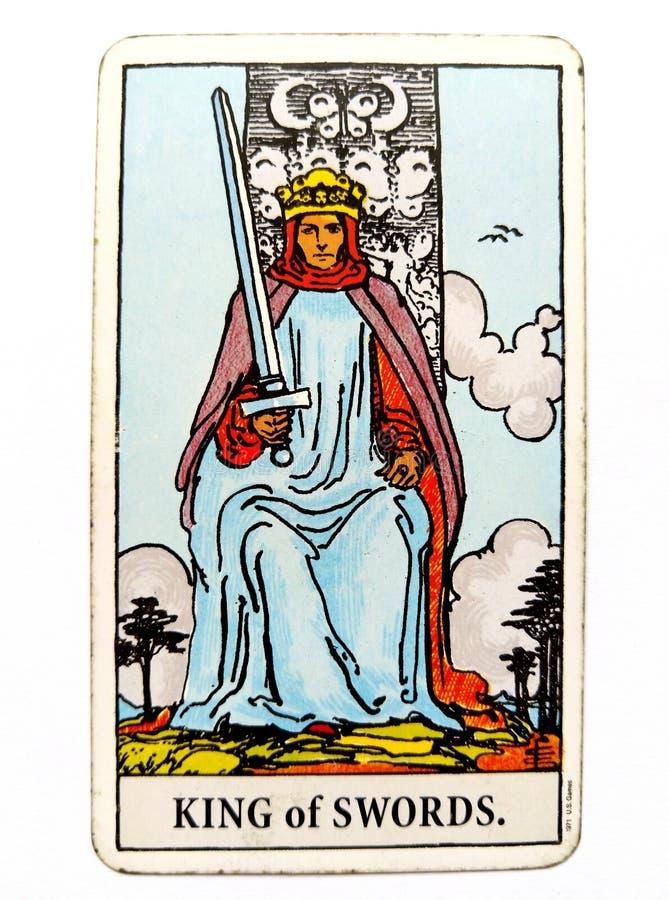 Królewiątko kordzika Tarot karty morałów etyk sposobów rozmowy debaty rzecznika Komunikacyjnych opinii dyscypliny Umysłowy powód obrazy royalty free