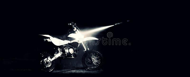 Królewiątko motocykl obraz stock