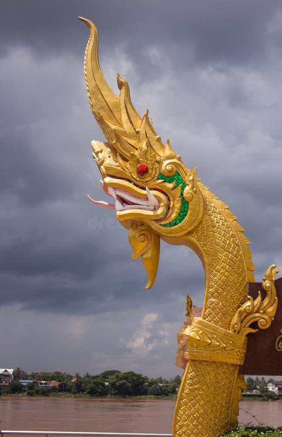 Królewiątko naga tajlandzka sztuki rzeźba obrazy royalty free