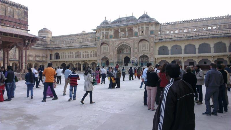 Królewiątko pałac Jaipur obraz royalty free