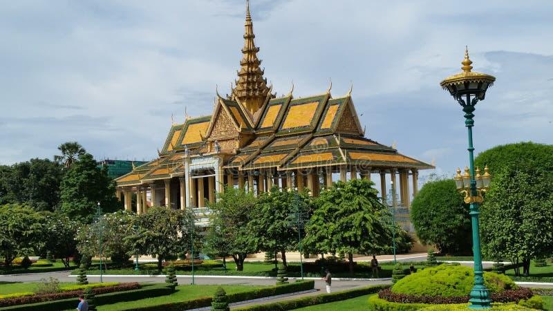 Królewiątko pałac Phnom Penh obraz stock