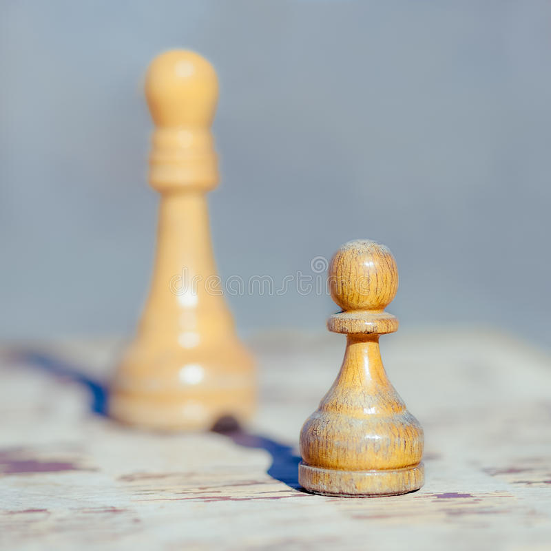 królewiątko szachowy pionek zdjęcia royalty free