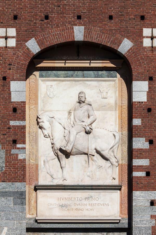 Królewiątko Umberto Ja Włochy zdjęcie royalty free