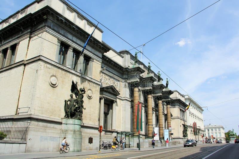 Królewscy muzea sztuki piękna Belgia obraz royalty free