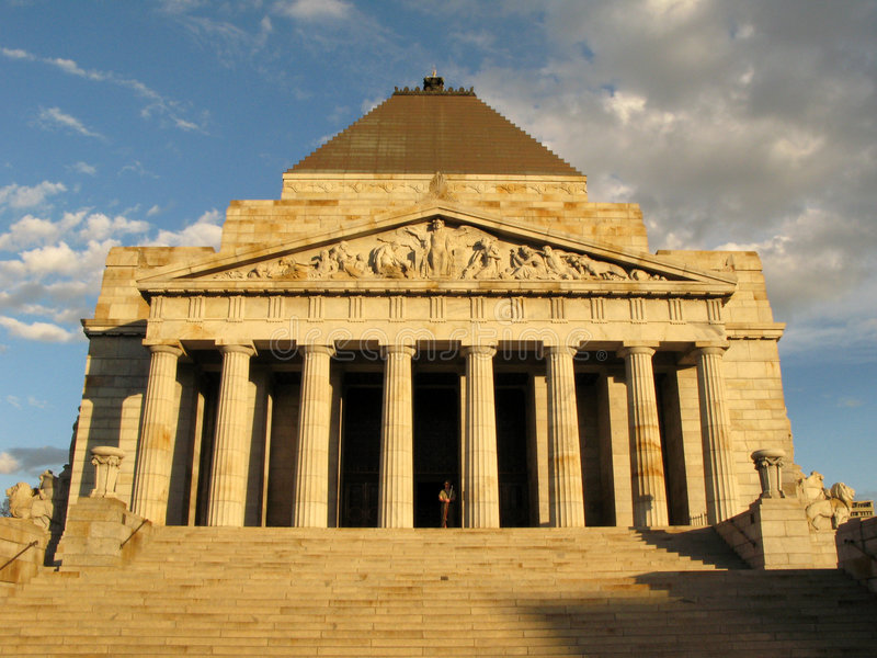 królewska australii Melbourne świątyni zdjęcia stock