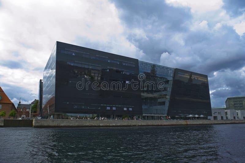 Królewska biblioteka w Kopenhaga zdjęcia royalty free