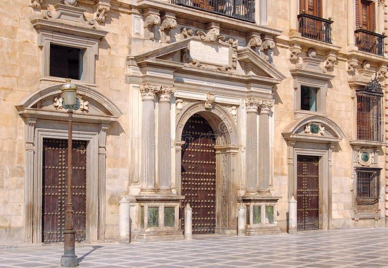 Królewska kancelaria - Granada obrazy stock
