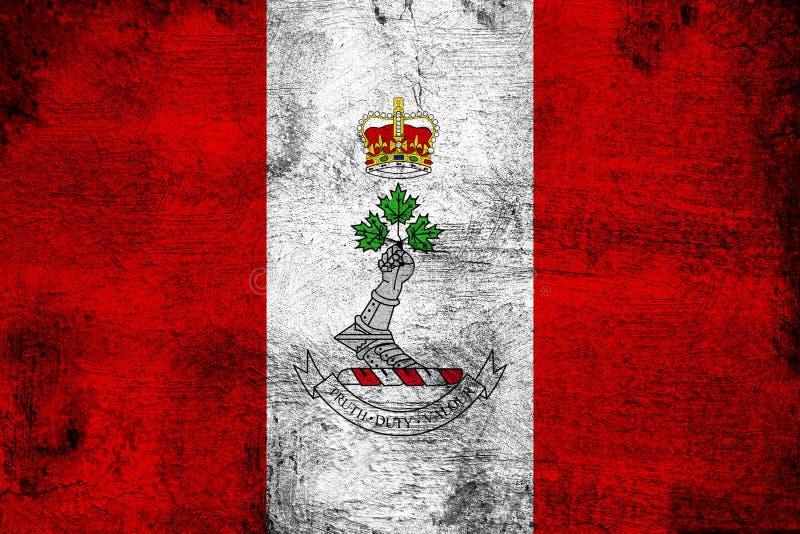 Królewska Militarna szkoła wyższa Kanada ilustracja wektor
