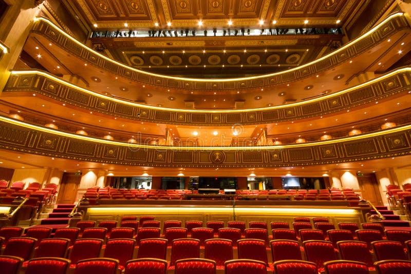 Królewska opera w muszkacie, Oman zdjęcie royalty free
