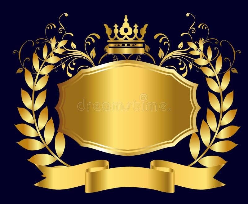 Królewska osłona złoto