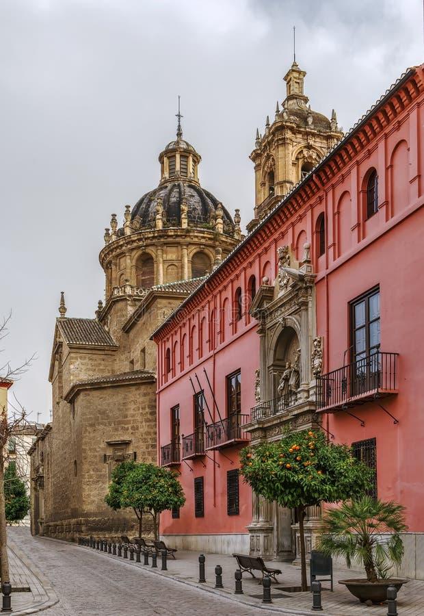 Królewska szkoła wyższa święty Bartholomew, Granada zdjęcie stock
