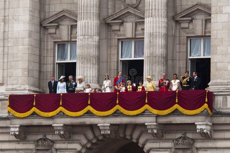 królewski ślub zdjęcia stock