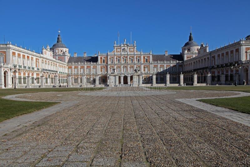 królewski Aranjuez pałac Madrid zdjęcie royalty free
