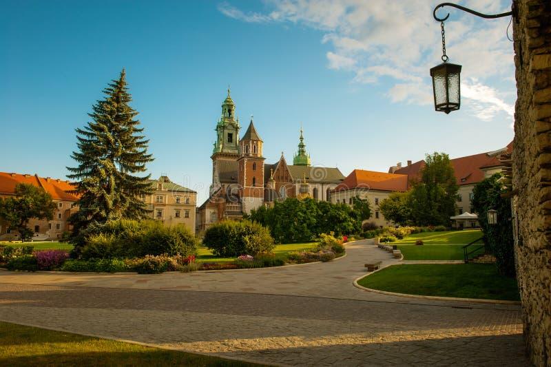 królewski Cracow grodowy wawel fotografia stock