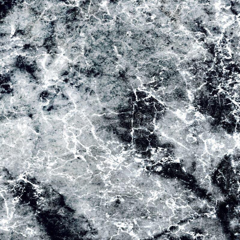 Królewski Czarny I Biały Marmurowy tekstura projekt obraz royalty free