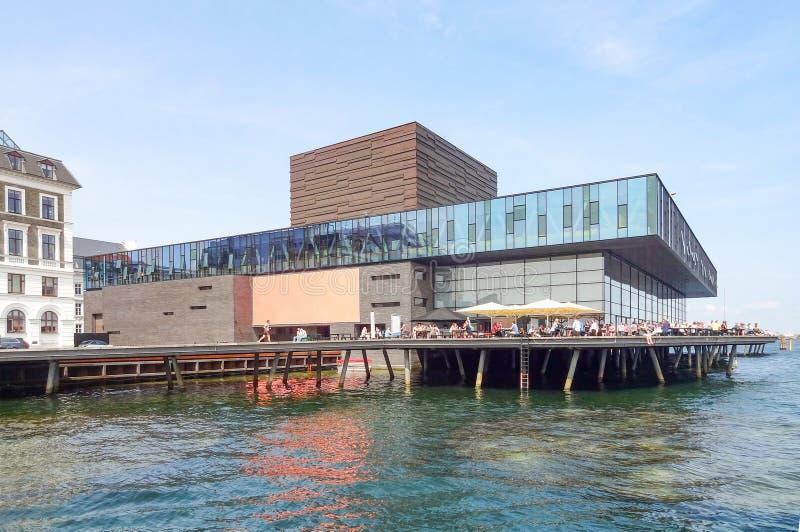 Królewski Duński domek do zabaw w Kopenhaga obraz stock