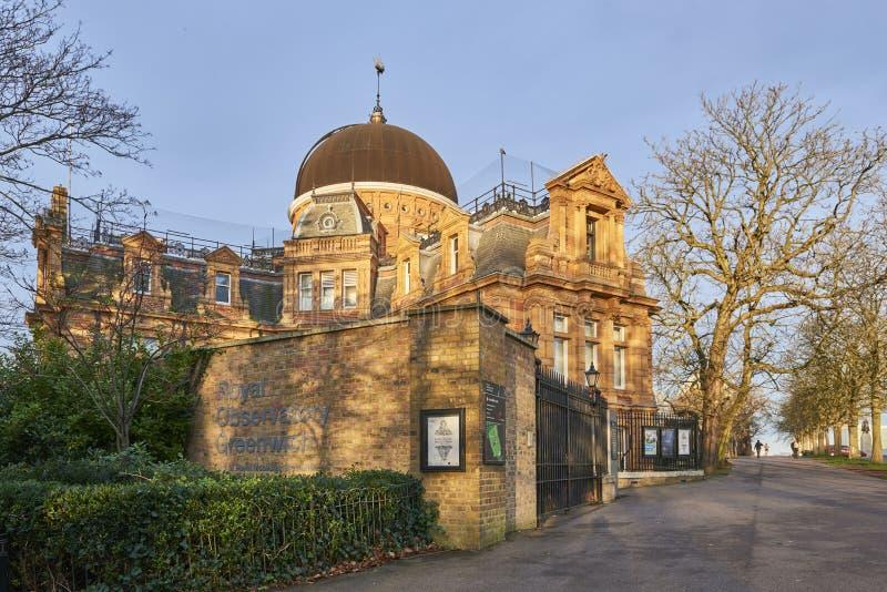 królewski Greenwich obserwatorium zdjęcie royalty free
