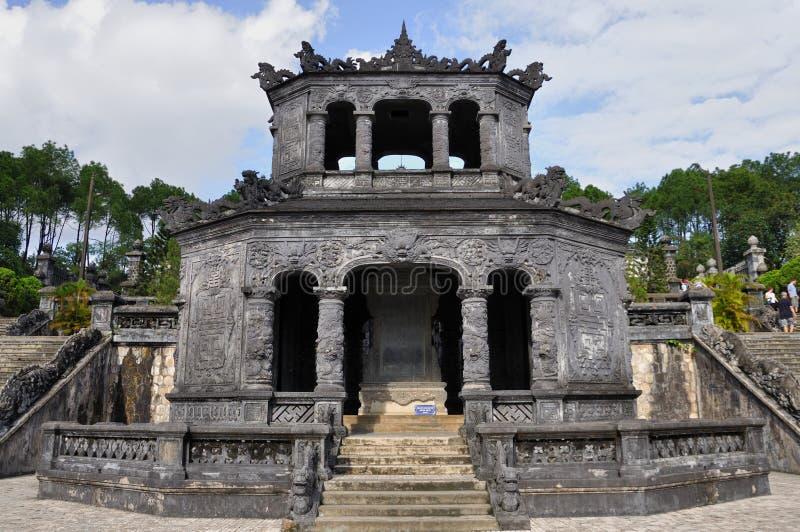 Królewski grobowiec Wietnam fotografia royalty free