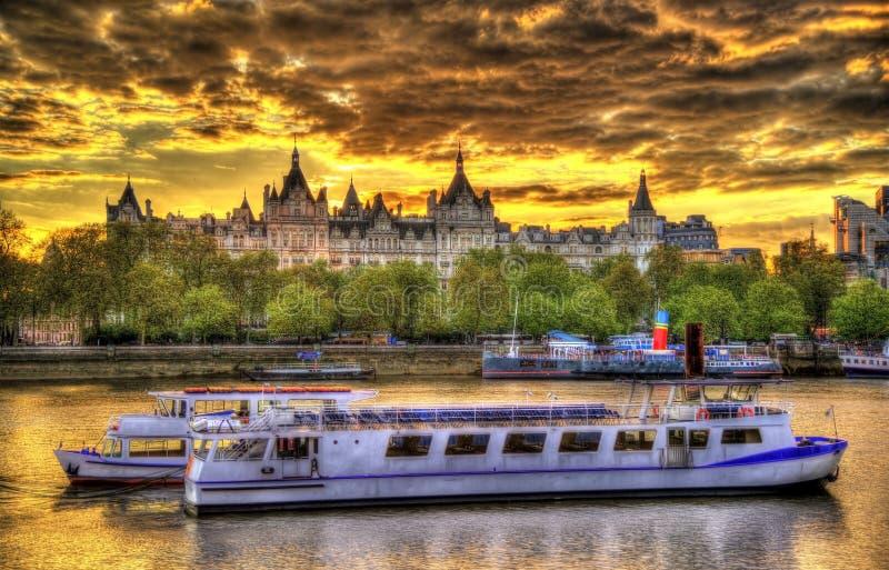 Królewski Horseguards hotel, historyczny budynek w Londyn zdjęcie stock
