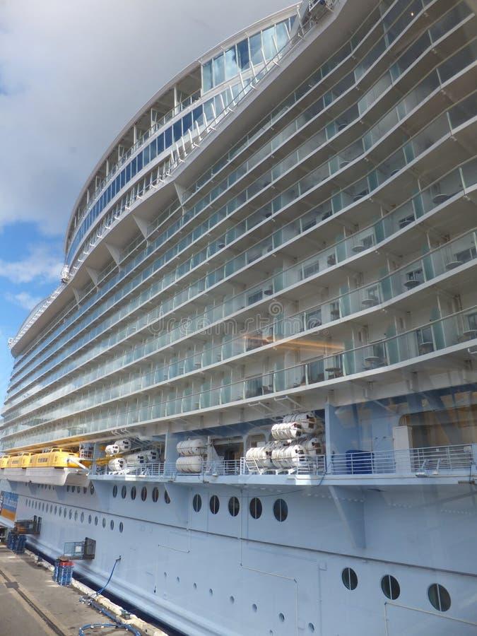 Królewski Karaiby urok morza fotografia royalty free