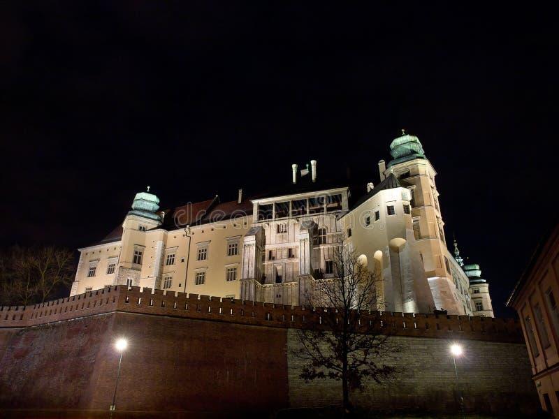 królewski Krakow grodowy wawel obraz royalty free