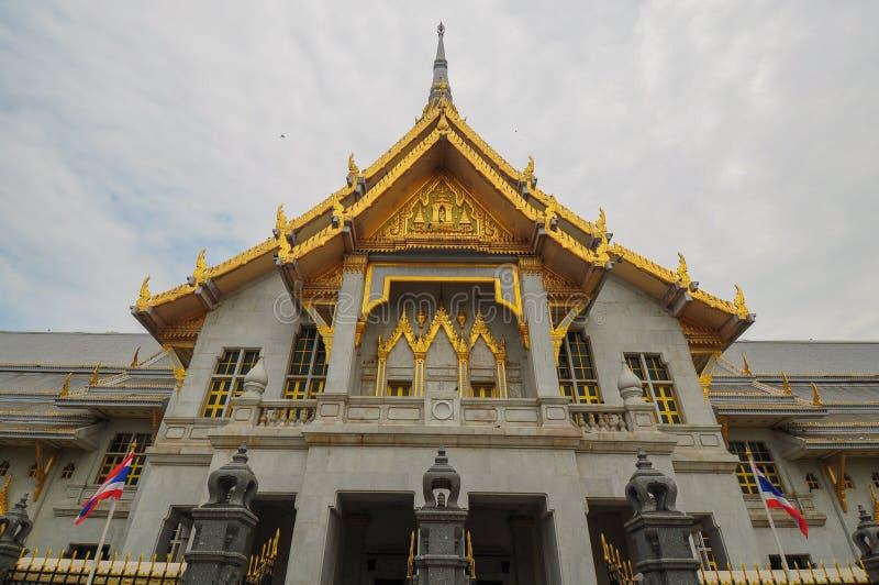 Królewski monastry w Chacheongsao, Tajlandia zdjęcia stock