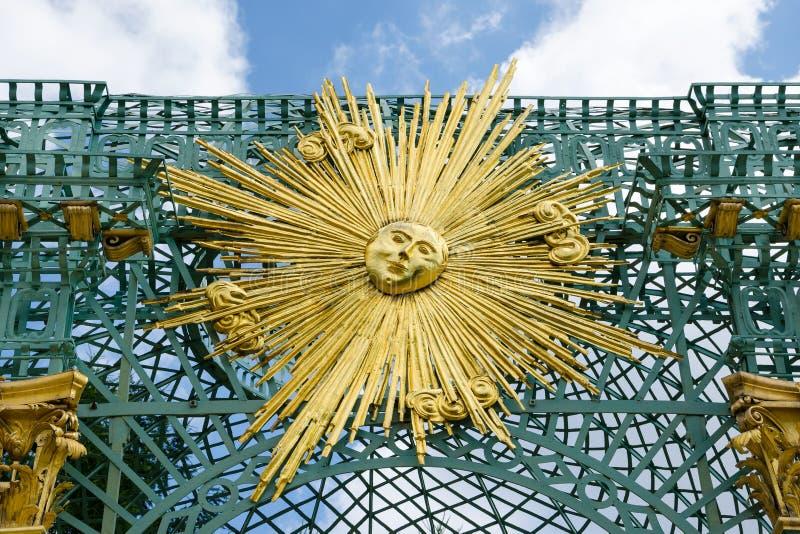 Królewski pawilon w Sanssouci parku w Potsdam, Niemcy zdjęcie stock