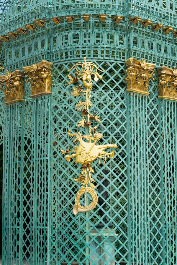 Królewski pawilon w Sanssouci parku w Potsdam, Niemcy zdjęcia royalty free