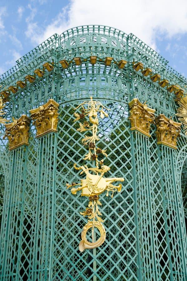 Królewski pawilon w Sanssouci parku w Potsdam, Niemcy obraz stock