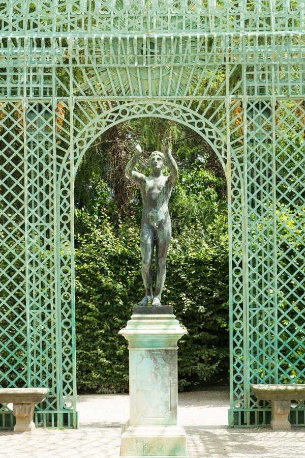 Królewski pawilon w Sanssouci parku w Potsdam, Niemcy obrazy royalty free