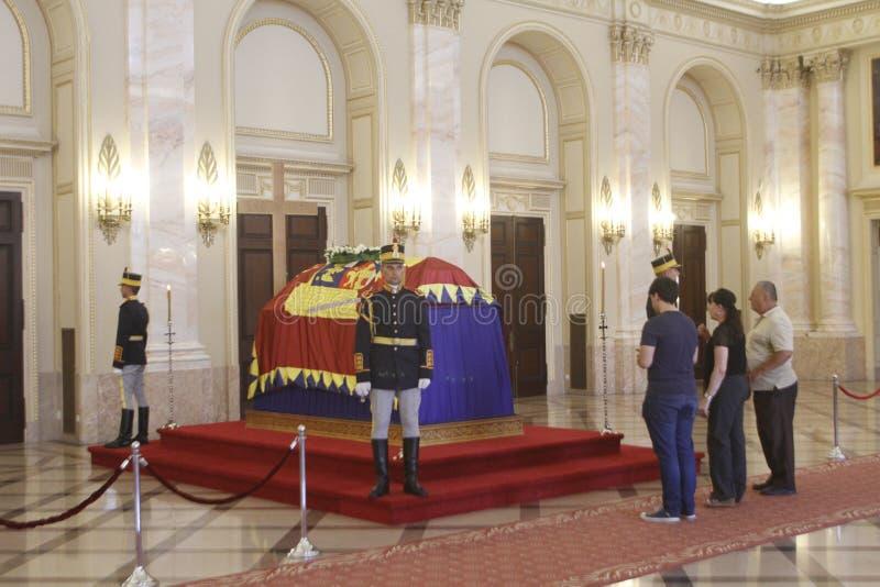 Królewski pogrzeb królowa Anne Rumunia obrazy royalty free