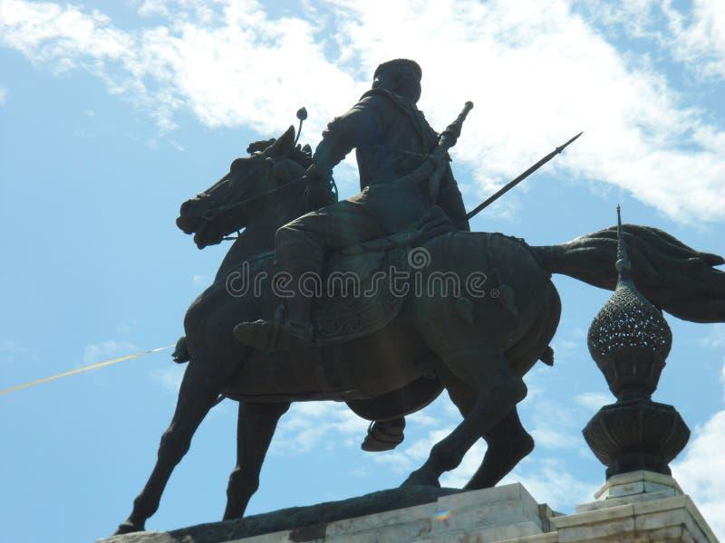 Królewski zabytek królewiątko Naresuan zdjęcie stock