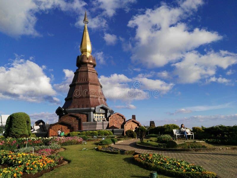 Królewskie Bliźniacze pagody fotografia stock