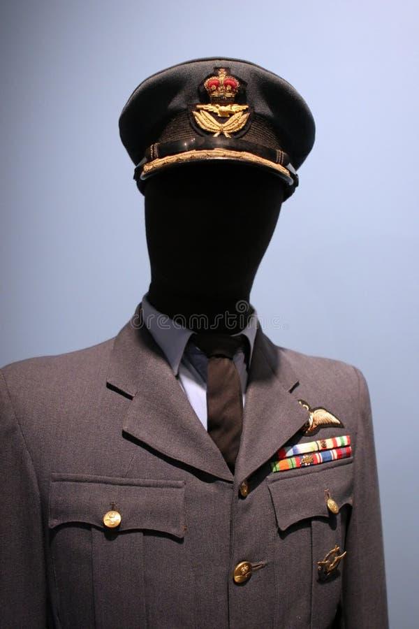 królewskie siły lotnicze kanadyjskiej mundurek. obrazy stock
