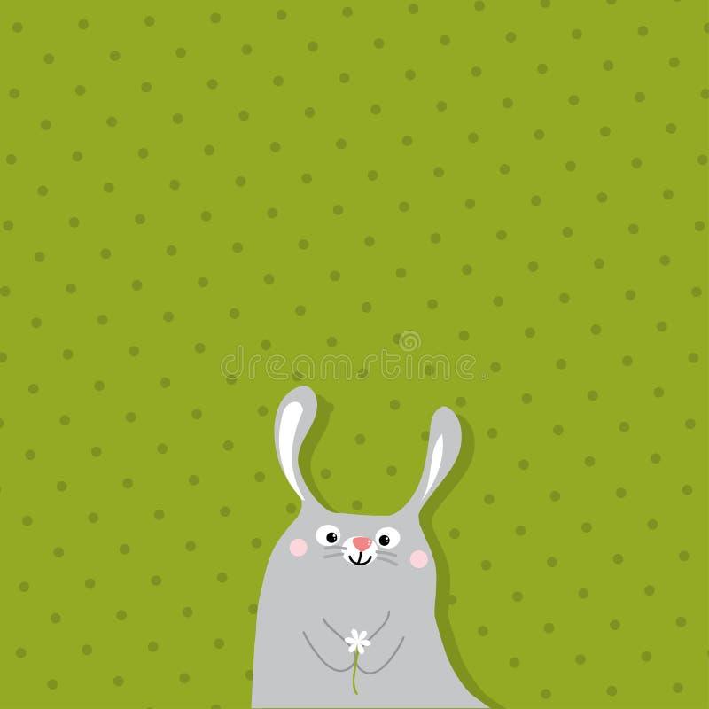 królik śliczny royalty ilustracja